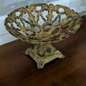 Decorative Metal Bowl